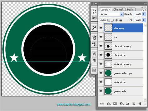 cara membuat logo starbuck di photoshop tutorial cara membuat logo starbucks 1 belajar photoshop