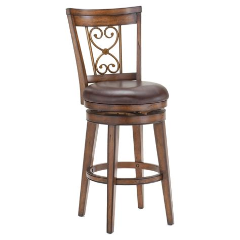 Swivel Counter Stools With Backs by Villagio Swivel Counter Stool Scroll Back Bar Stools
