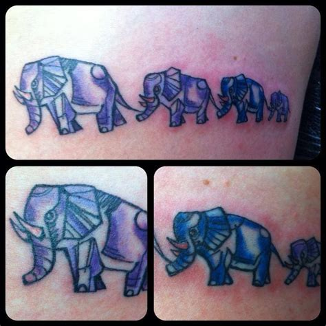 tattoo elephant family 17 best images about tattoos on pinterest david hale