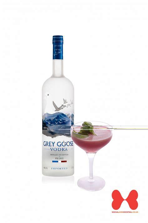 martini basil grey goose blueberry basil martini cocktail recipes