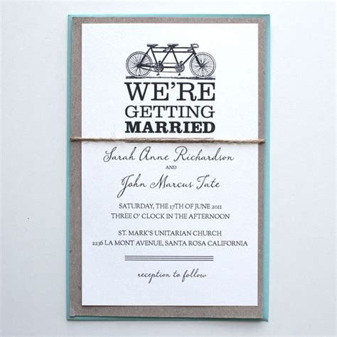 wedding invitation st suite free tandem bike printable wedding invitation suite
