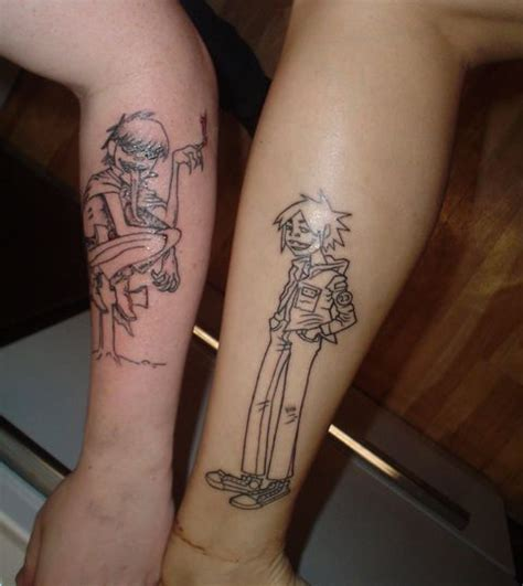 gorillaz tattoo 9 best gorillas ideas images on