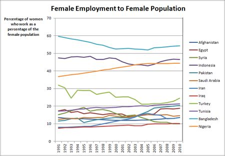 female labor force in the muslim world wikipedia