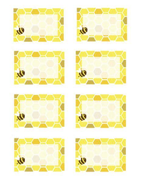 card bee template everyday honeybee printables