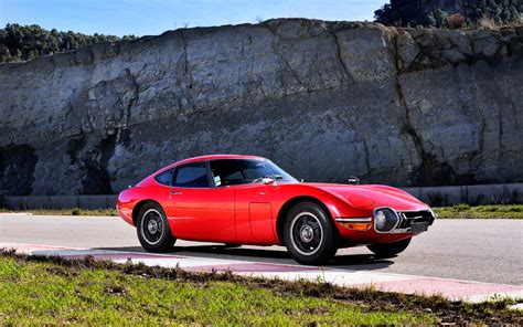 1968 Toyota 2000gt 1968 Toyota 2000gt Front Three Quarters Photo 40