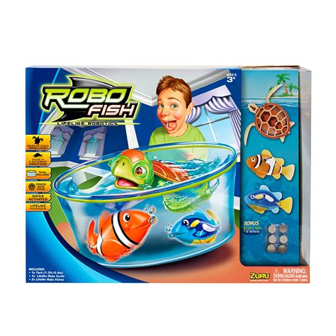 Walmart Kids Bedding Robo Fish Play Set Electronic Toys B Amp M