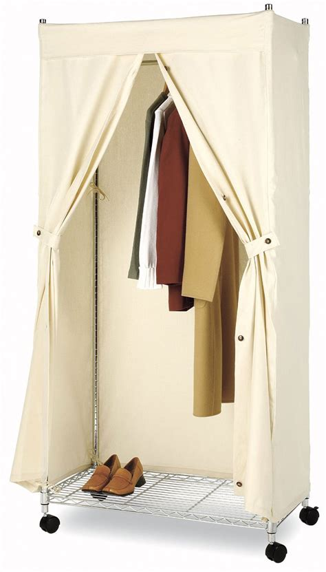 Enclosed Garment Rack by Whitmor Supreme Garment Rack Cover In Clothing Racks And