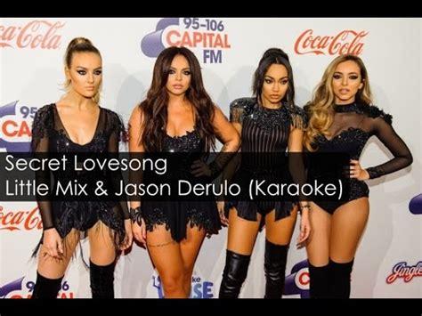 secret we the karaoke mix secret song ft jason derulo piano