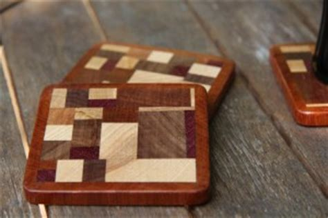 Wooden Drink Coaster by Scrap Wood Coasters