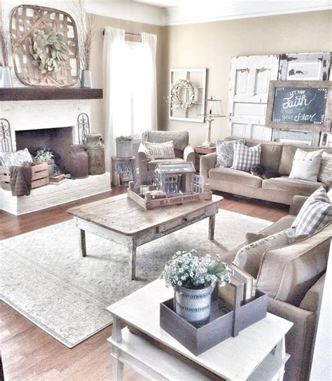 Farmhouse Living Room Furniture by Best 20 Farmhouse Living Rooms Ideas On