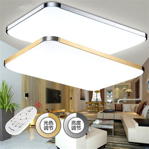 slim fixture square led light living room bedroom ceiling acrylic modern led chandelier lights for living room