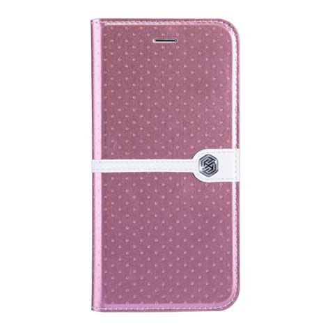 nillkin ice leather case  apple iphone  rose gold