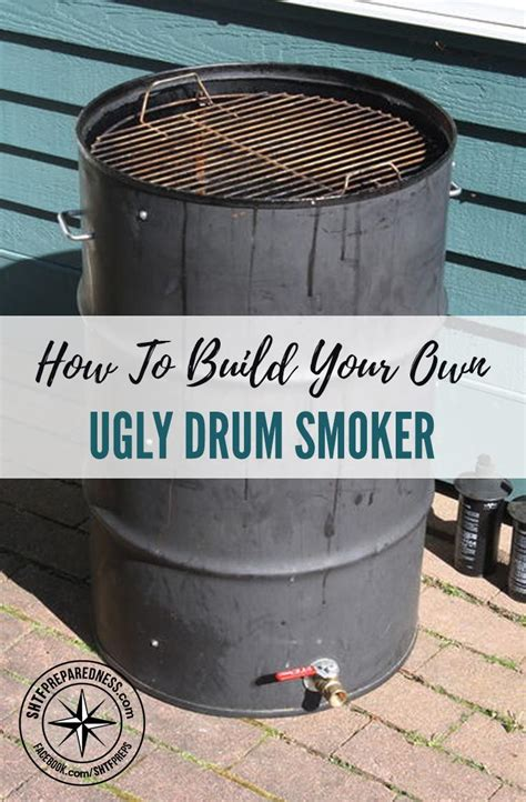 how to build a backyard smoker meer dan 1000 idee 235 n over ugly drum smoker op pinterest