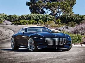 Images Of A Mercedes The Vision Mercedes Maybach 6 Cabriolet Rejects The Pod