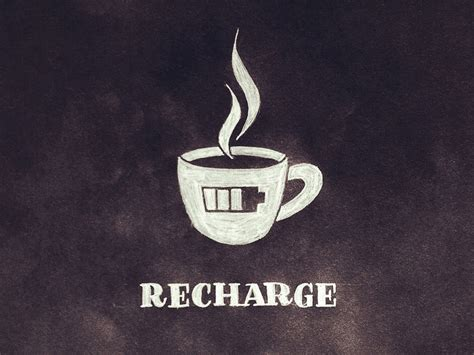 A Time To Recharge by Recharge Lettering By Seanwes