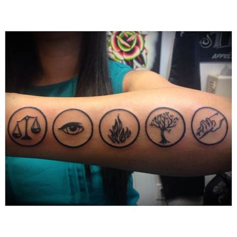 divergent tattoos 25 best ideas about divergent on