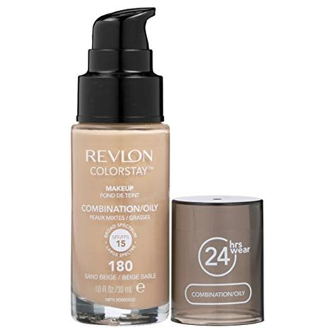 Revlon Foundation Colorstay Liquid 24hours Combination revlon colorstay liquid makeup for combination sand beige in the uae see prices reviews