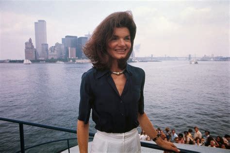 kennedy jacqueline beautiful portraits of jackie kennedy onassis in the 1970s