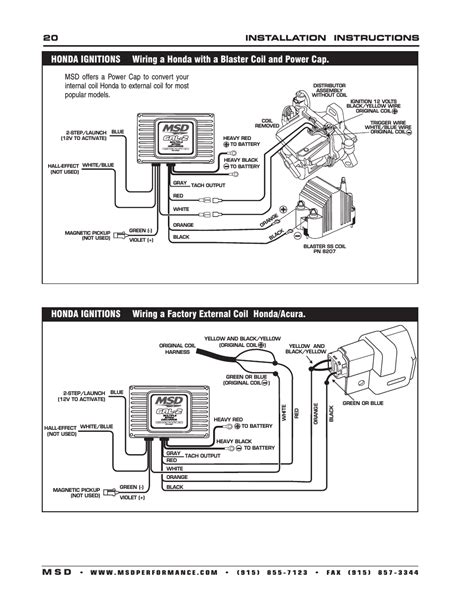 wiring diagram for distributor and coil k