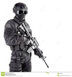 spec ops officer swat stock photo image 50669962