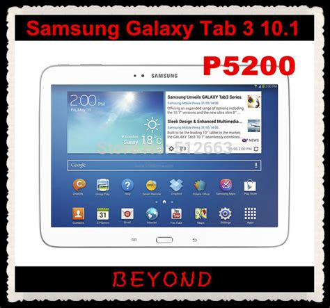 Samsung Tab 3 1 Jutaan Samsung Galaxy Tab 3 10 1 P5200 Original Unlocked Android 3g Dual Mobile Phone Tablet 10 1