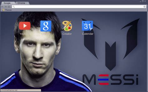themes google chrome barcelona messi theme chrome theme themebeta
