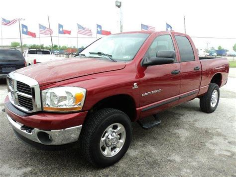 dodge 2500 for sale in houston 2006 dodge ram 2500 for sale in houston tx