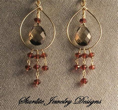 Handmade Earring Designs - starlite jewelry designs briolette earrings handmade