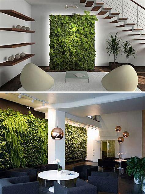 vertical indoor garden 20 cool vertical garden walls home design and interior