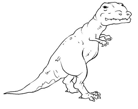 T Rex Coloring Pages Tyrannosaurus Rex Coloring Pages