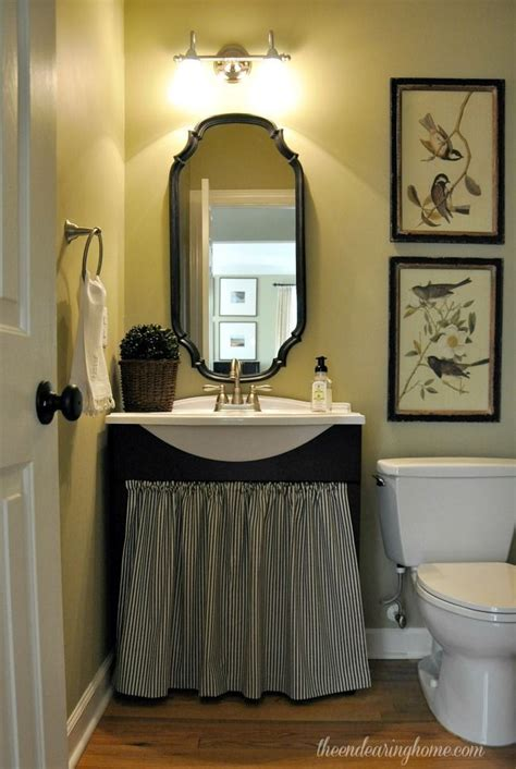 french country home cute   small bathroom  dont