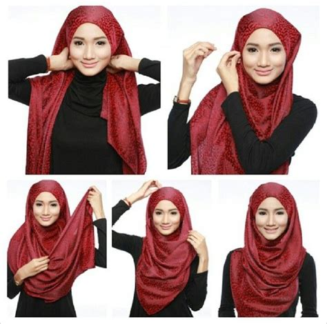 tutorial hijab vintage 29 best images about hijab tutorial on pinterest simple