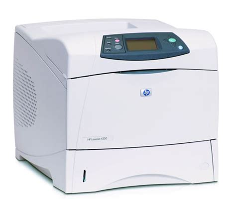 Printer Hp Laserjet Network hp laserjet 4350n network laser printer reconditioned