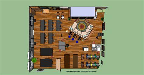 classroom layout 21st century design experiment 1 all sketchedup njacquesblog