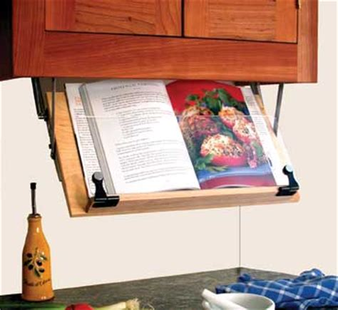 Cookbook Stands For Kitchen by Counter Cookbook Stand Organizes Your Kitchen