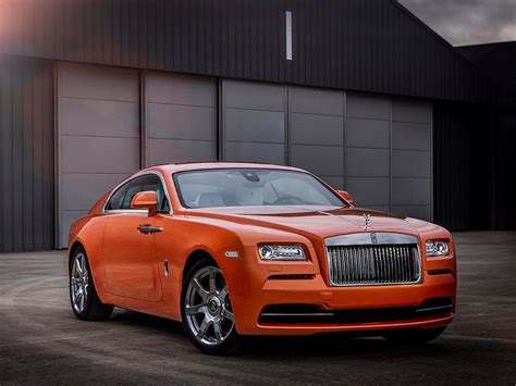 Bespoke Rolls Royce by Bespoke Orange Metallic Rolls Royce Wraith Revealed Gtspirit
