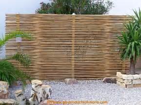 Garten Sichtschutz Holz Pflanzen Bambus Sichtschutz Eleganter Bambuszaun Von Gh Product