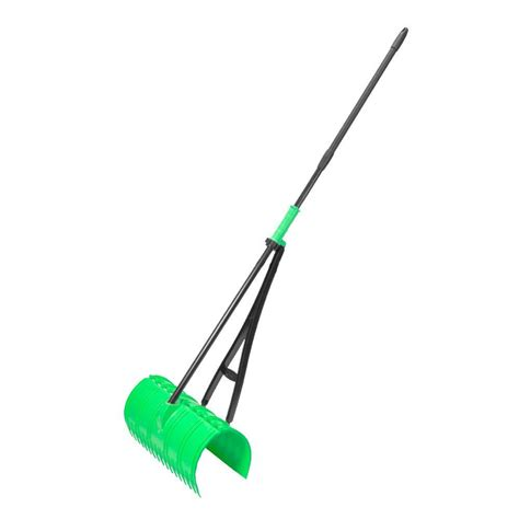 Amazing rake 17 in 3 in 1 lime green ergonomic pickup