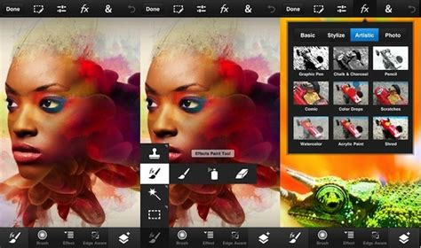 photoshop apps for android adobe releases photoshop touch for iphone ipod touch and android phones technology news