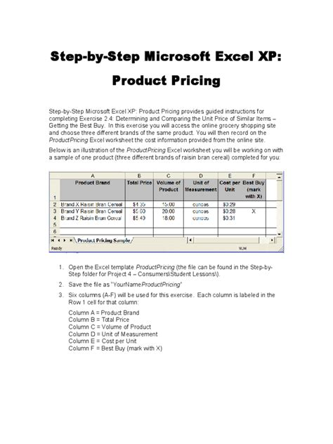 cost per unit excel template images templates exle