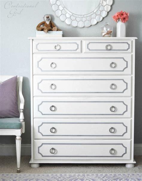 White Painted Dressers by 15 Eye Catching Dresser Diys