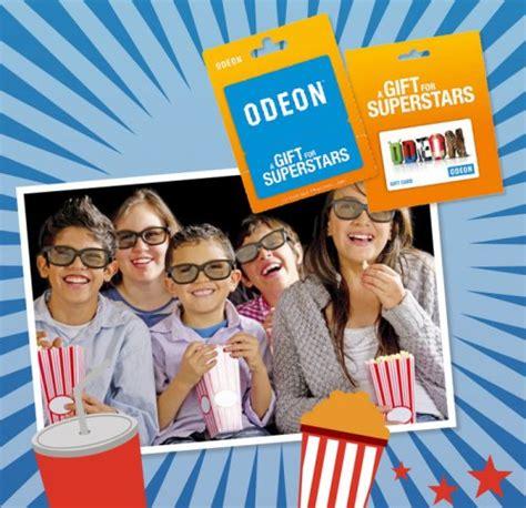 Odeon Cinema Gift Card - win 1 of 4 163 50 odeon cinema gift cards first news hotukdeals
