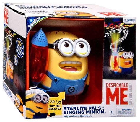 singing minion light starlite pals 7 inch despicable me