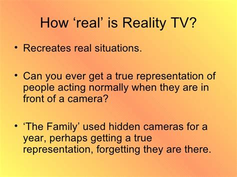 24 pictures of reality tv year 10 reality tv revision