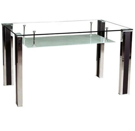 glass modern dining table modern tempered glass dining table dt003 china dining
