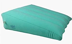 inflatable 3 pc body wedge foam pillow acid reflux back obbomed 174 hr 7510 inflatable portable bed wedge pillow with