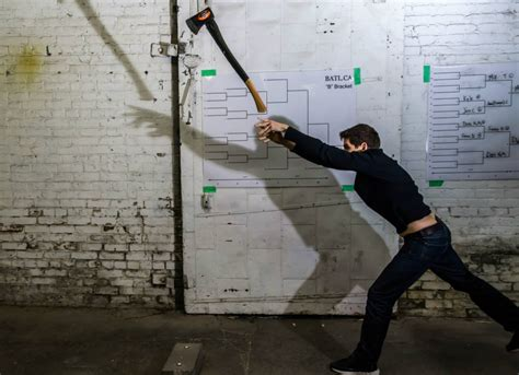 backyard axe throwing toronto axe throwing community in toronto continues to grow ctv
