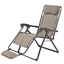zero gravity lawn chair canadian tire sling deluxe zero gravity patio chair with footrest beige