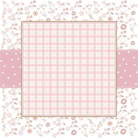 romantic flower background vector vector flower free vector free pink romantic background with little flowers vector free