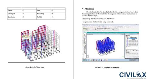 portal frame design using staad pro analysis and design of multi storey residential building